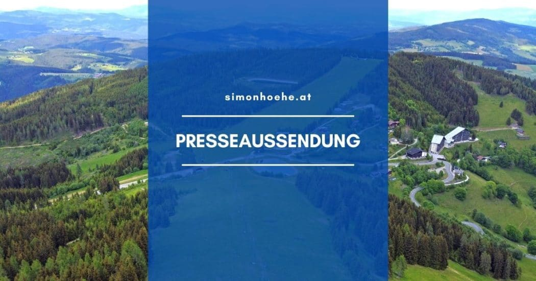 Schriftzug Presseaussendung Simonhöhe