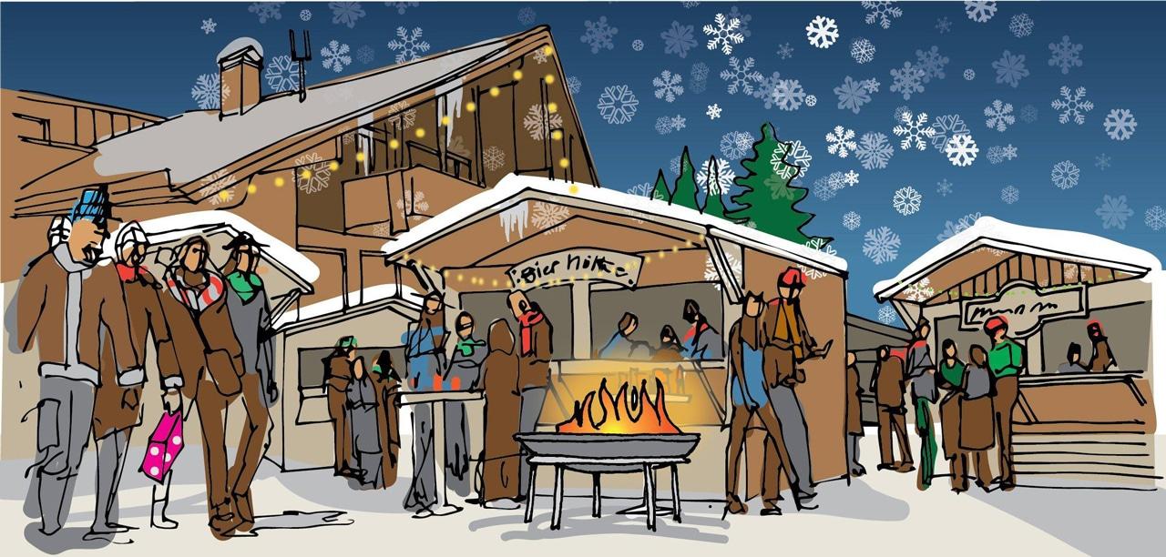 Simonhöhe Weihnachtsmarkt Grafik
